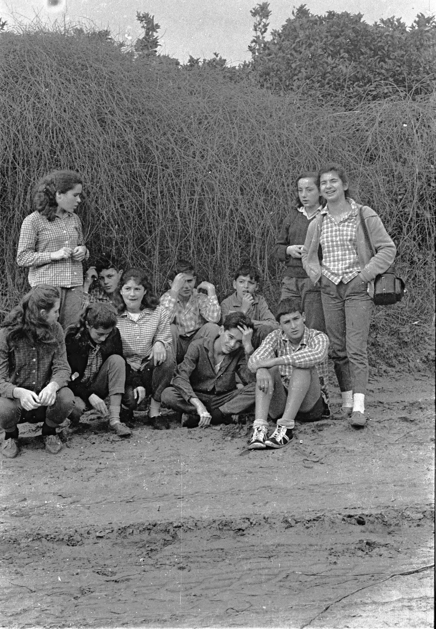 קבוצת נרקיס בטיול