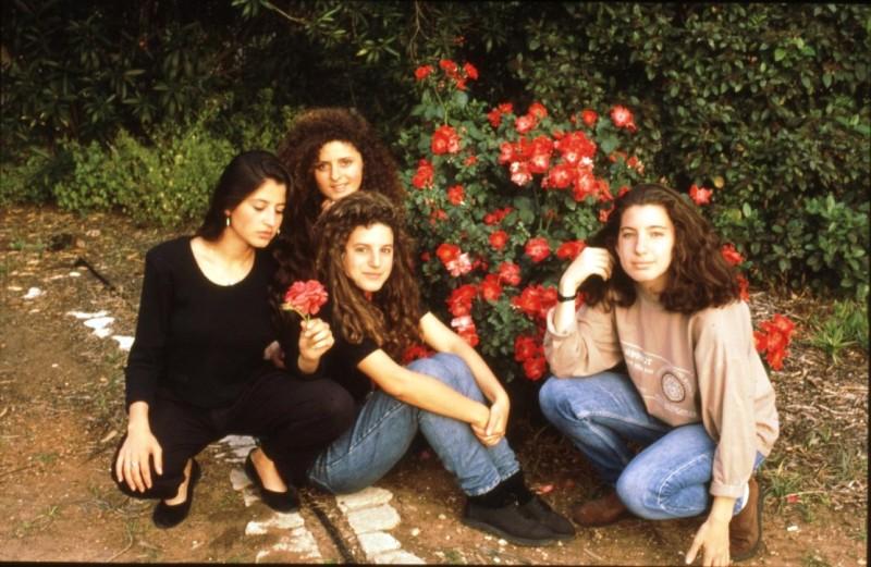 שקופית 28- 169 -ג'ש 1990-קב' אשל-מיקי לאה דבדה סמדר שבולת ליאורה שוסטר