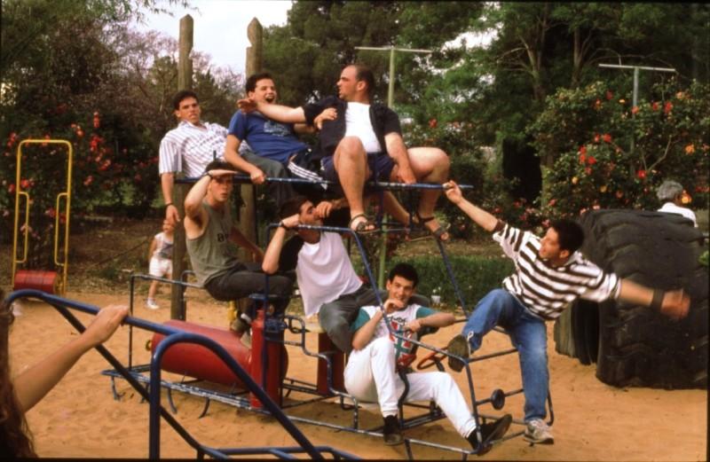 שקופית 43- 169 -ג'ש 1990-קב' אשל-הבנים בגן אפרים