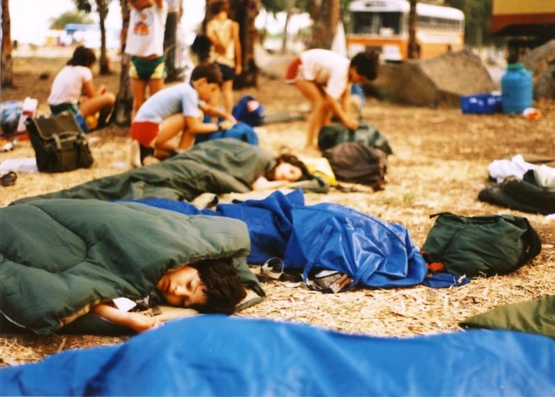 תמונה 7- 55 - קבוצת אתרוג בטיול 1985