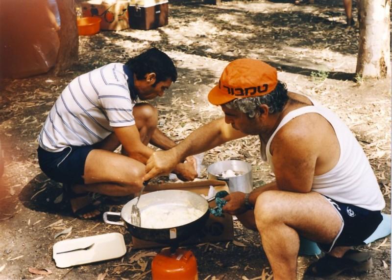 תמונה 8- 55 - קבוצת אתרוג בטיול 1985 - עמיר שפירא