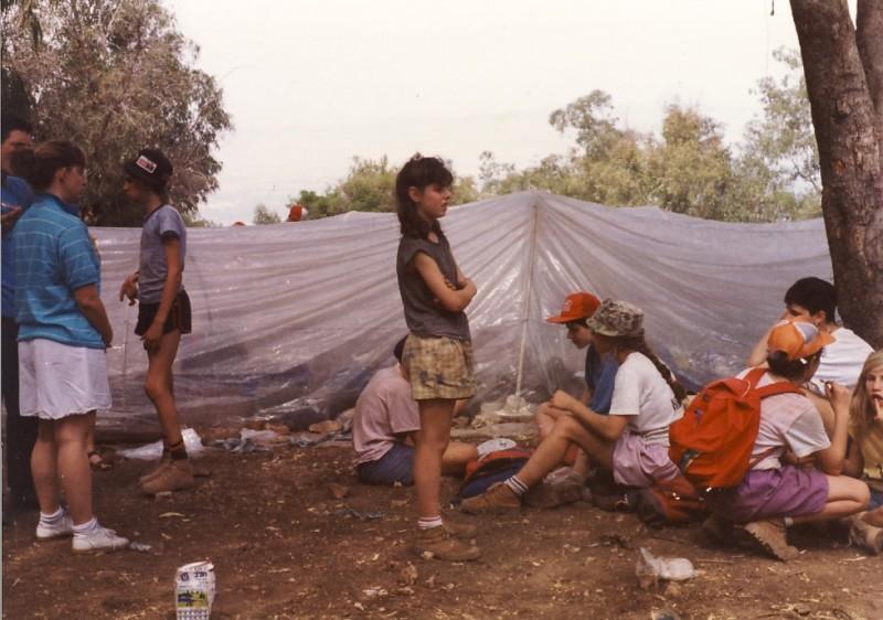 תמונה 10- 117 - קבוצת אתרוג - מחנה סיירים 1990