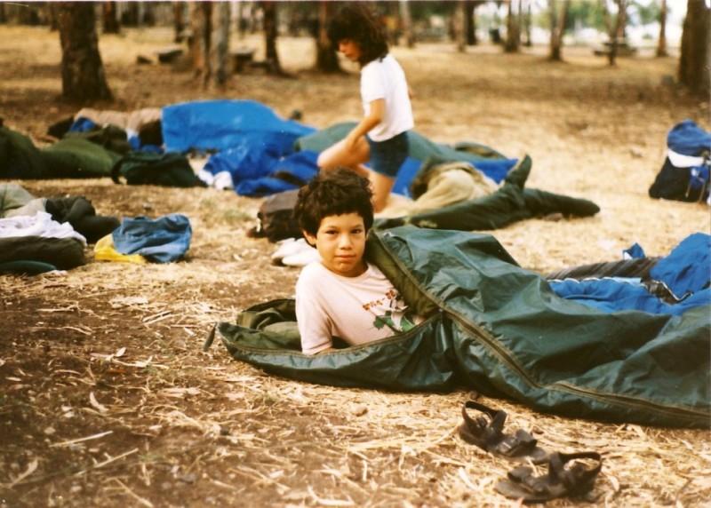 תמונה 1- 55 - קבוצת אתרוג בטיול 1985