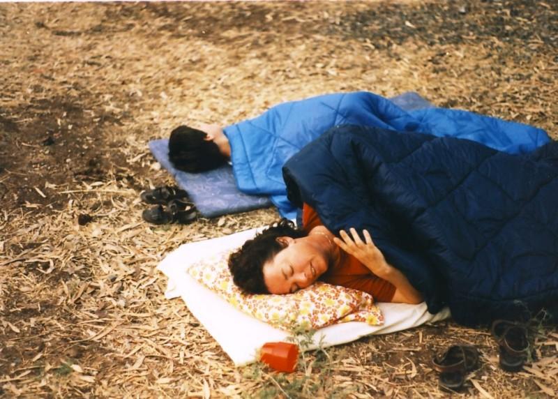 תמונה 6- 55 - קבוצת אתרוג בטיול 1985 - עמירה רוטמן