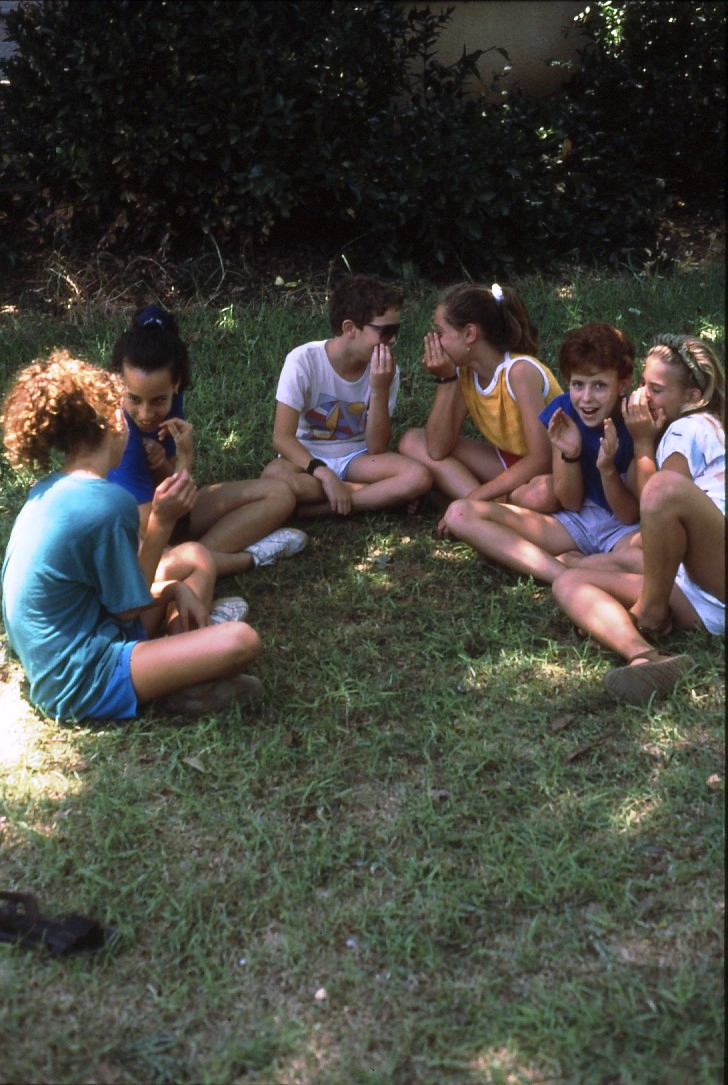 שקופית 30- 227 -ג'ש 1989-ילדי קב' ברוש-סיום כתה ו'-חברת הילדים