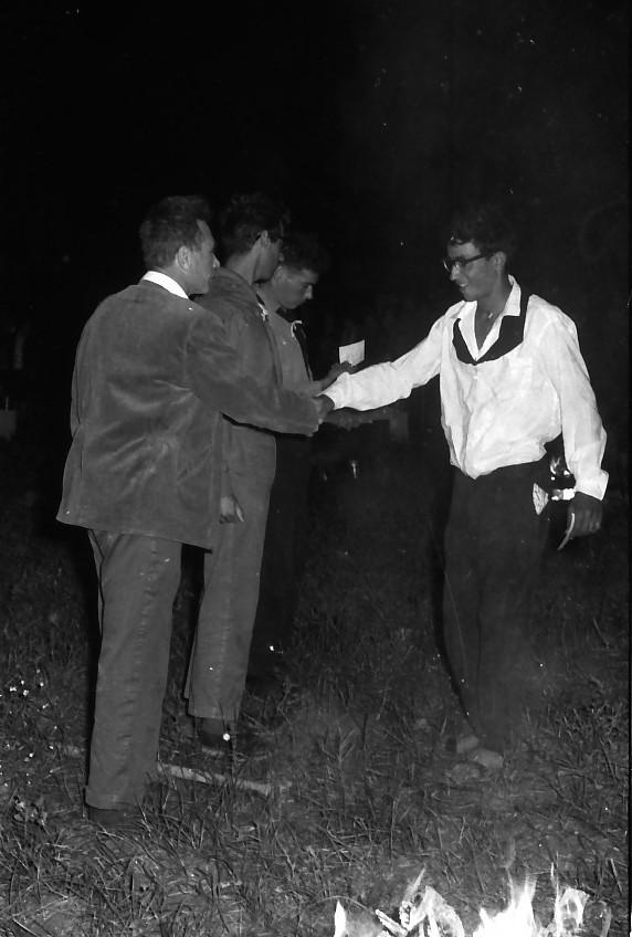 תמונה 22- 695 -ג'ש 1964-קב' גפן-סמלי בוגרים-בניו גרינבוים דוד חתואל