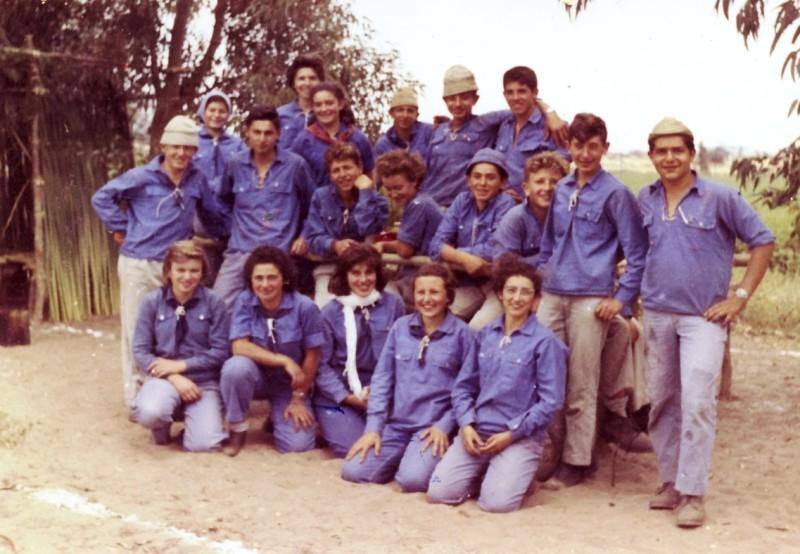 תמונה 1- 88 - קבוצת גפן בגן שמואל 1961