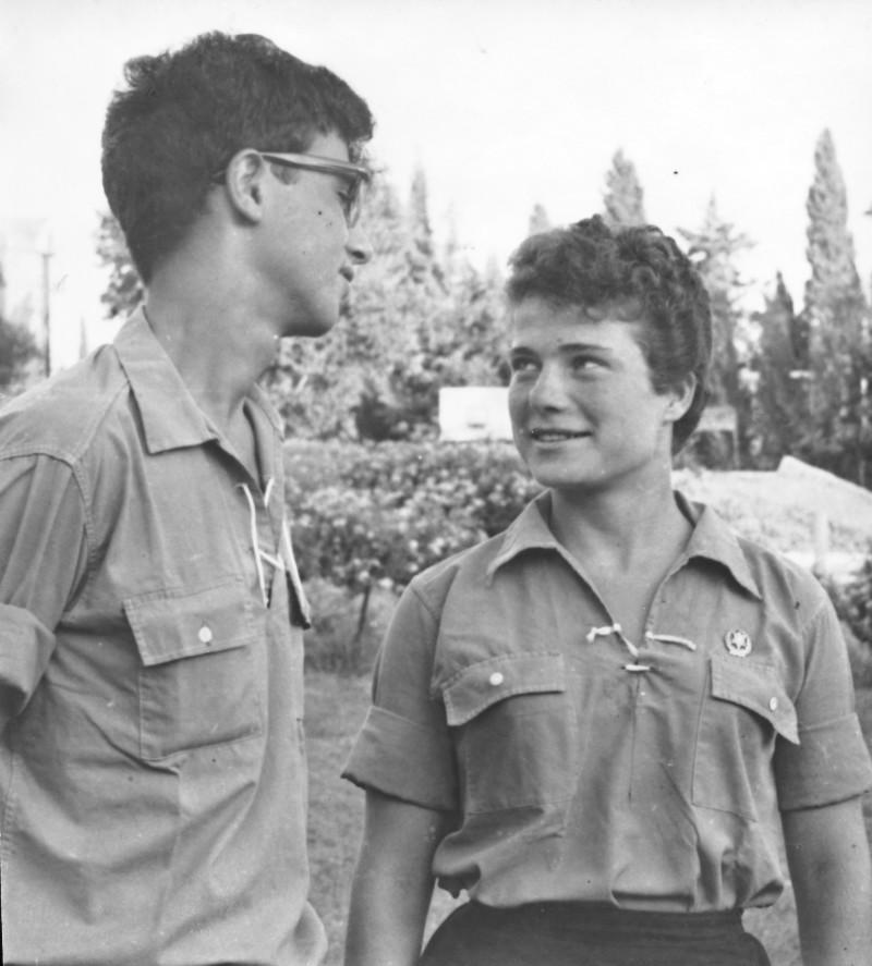 תמונה 2- 977 -ג'ש 1965-קב' גפן-דוד חתואל יהודית סלומון