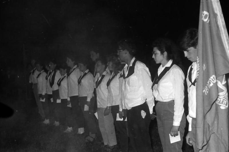 תמונה 7- 695 -ג'ש 1964-קב' גפן-סמלי בוגרים-דוד חתואל יצחק גרוס