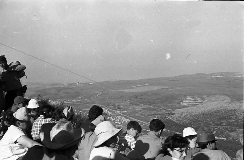 תמונה 6- 721 -ג'ש 1968-קב' שקמה-טיול לגליל