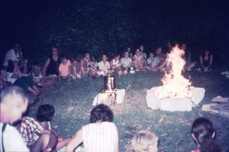 שקופית 8- 309 -ג'ש 1974-קבוצת דקל-מסיבת סיום שנה