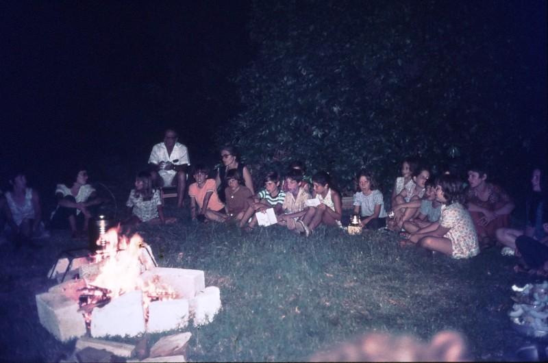 שקופית 9- 309 -ג'ש 1974-קבוצת דקל-מסיבת סיום שנה
