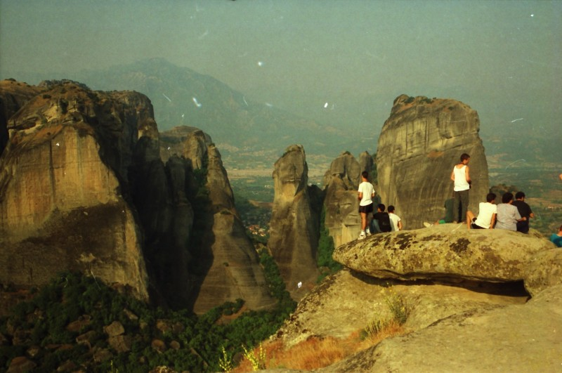 תמונה 2- 304 -גש 1991-בטיול ליוון-קב חורש