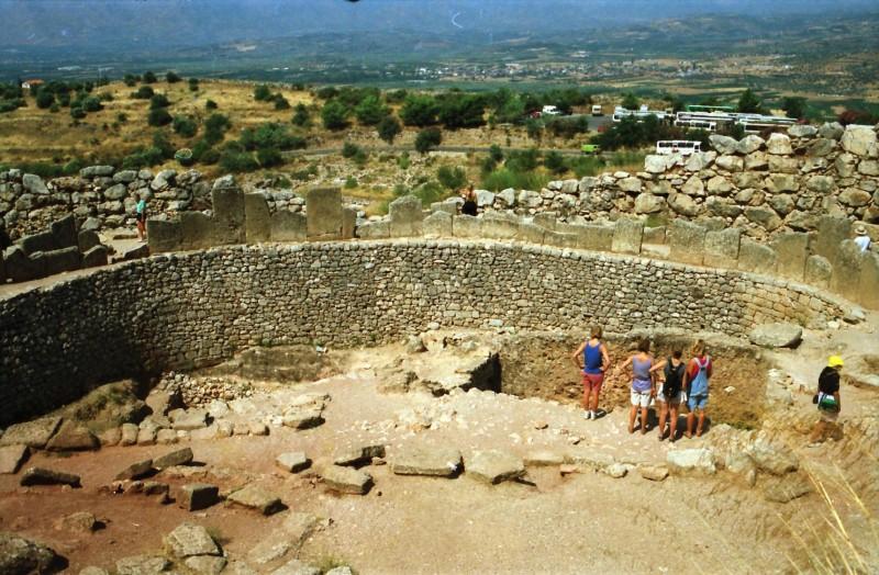 תמונה 9- 304 -גש 1991-בטיול ליוון-קב חורש