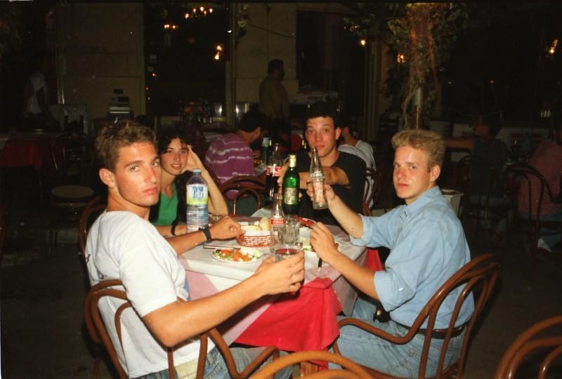 תמונה 10- 304 -גש 1991-בטיול ליוון-קב חורש-ערן גרביה ולזיהוי