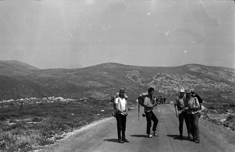 תמונה 10- 721 -ג'ש 1968-קב' שקמה-טיול לגליל