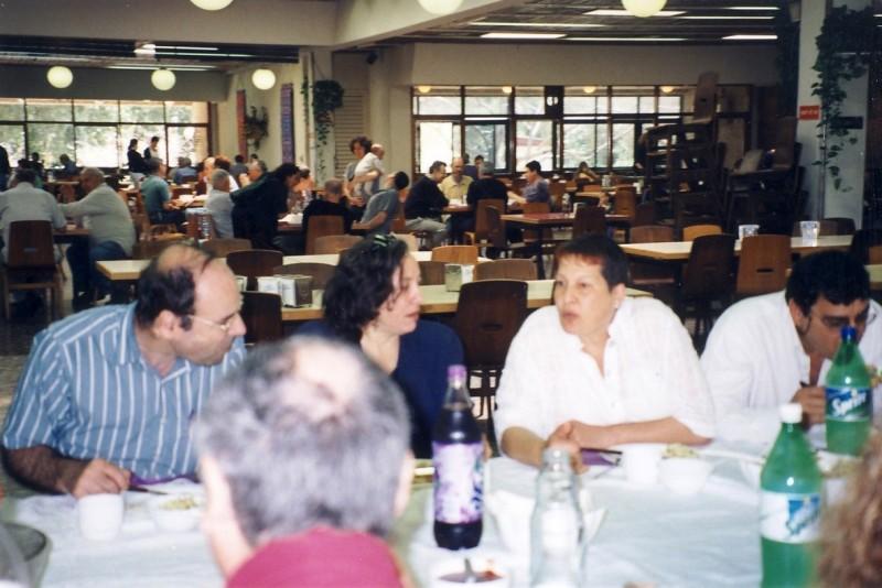 תמונה 6- 133 - כנס חברי קבוצת נרקיס (בני 50) 2001 - גילה עמיר שלומית ורנר