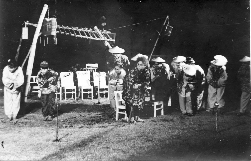 תמונה 8- 21 - הצגת הנסיך הגנוב-קבוצת נרקיס 1963