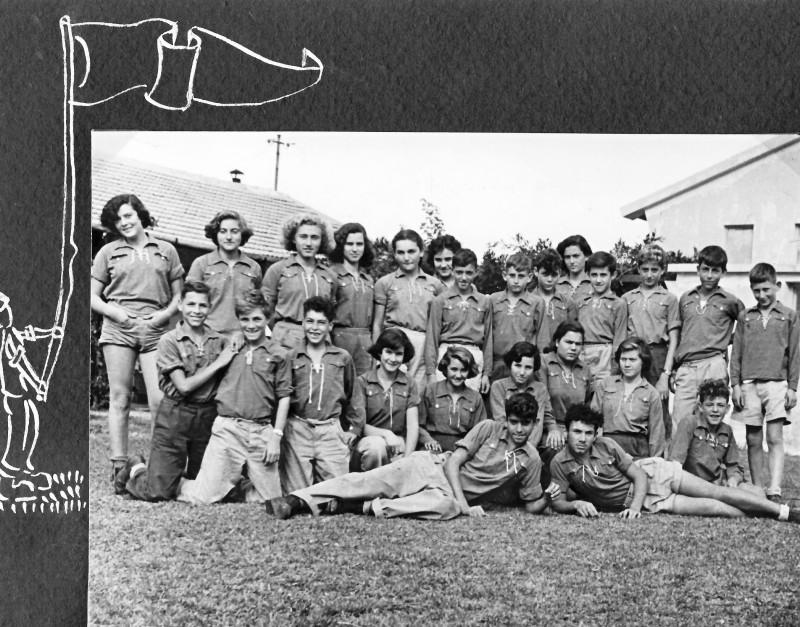 תמונה 1- 37 -ג'ש 1953-קבוצת נשר-שמות בסכום