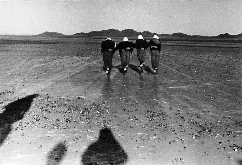 תמונה 2- 34 - טיול קבוצת נשר לבקעת הירח 1956-7