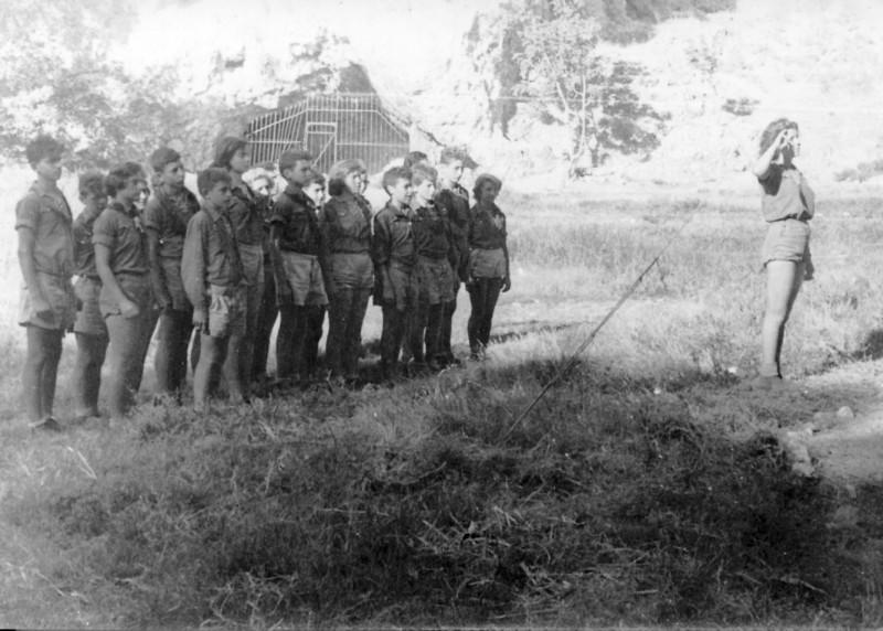 תמונה 4- 126 - קבוצת נשר בשומריה - ראובן שפירא מיכה זכאי