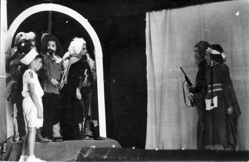 תמונה 6- 31 - ילדי קבוצת נשר בהצגה שנות ה-40-50