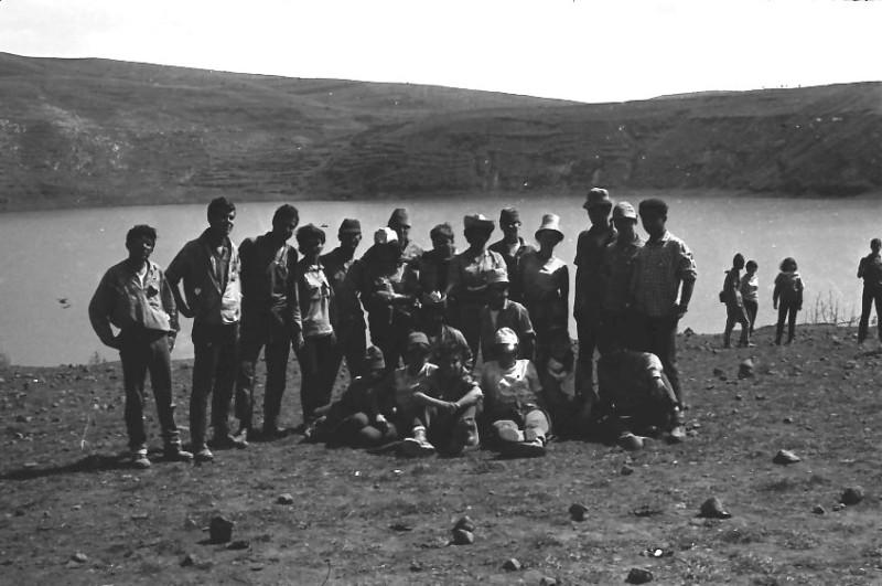 תמונה 16- 721 -ג'ש 1968-קב' שקמה-טיול לגליל-ברכת רם