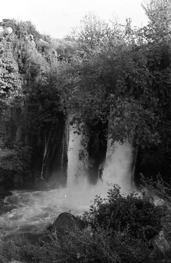 תמונה 17- 721 -ג'ש 1968-קב' שקמה-טיול לגליל-בבניאס