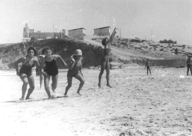 תמונה 10- 247 - קבוצת נשר בקייטנה בגבעת אולגה 1954 - יהודית גל
