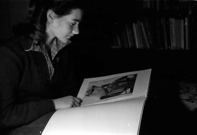 תמונה 12- 640 -ג'ש 1957-קבוצת נשר-רינה פרנק