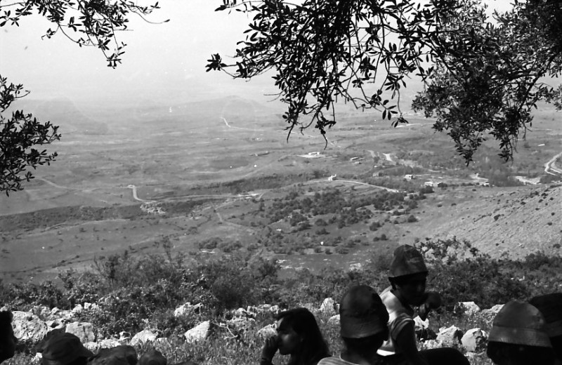 תמונה 19- 721 -ג'ש 1968-קב' שקמה-טיול לגליל