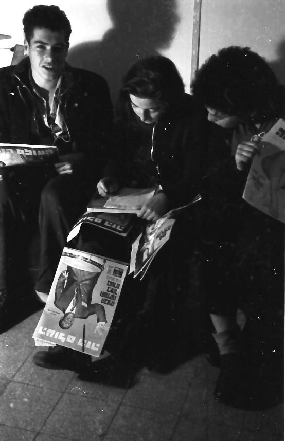 תמונה 18- 640 -ג'ש 1957-קבוצת נשר-ראובן שפירא תמר זכאי