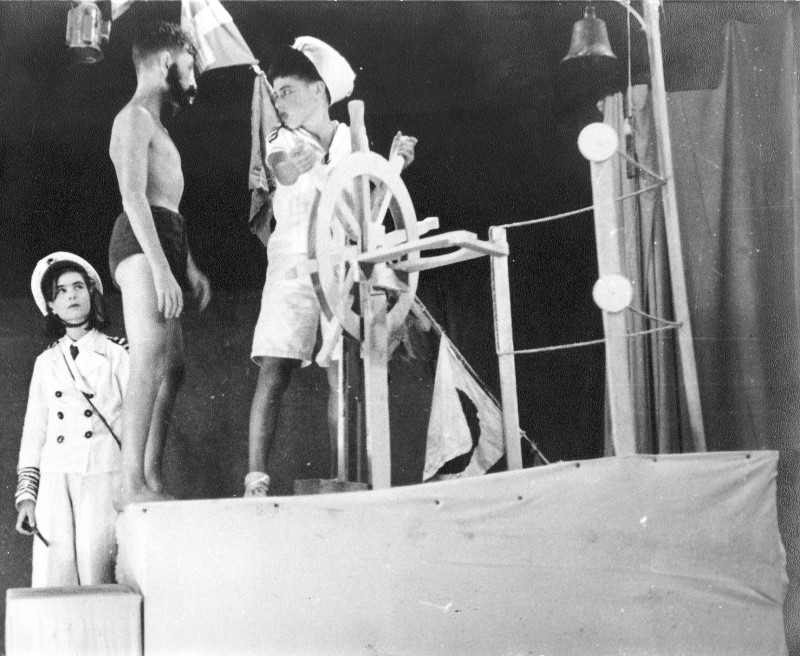 תמונה 25- 37 -ג'ש 1953-קבוצת נשר-הצגב-רינה פרנק ראובן שפירא