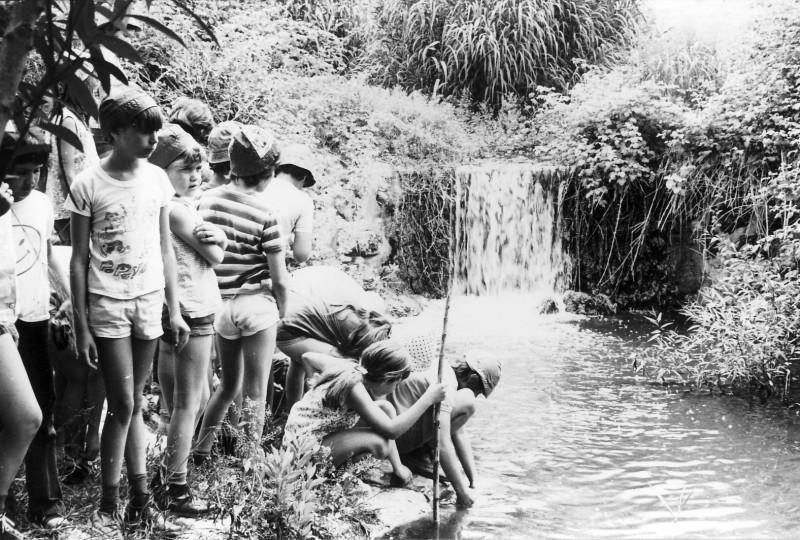 תמונה 4- 230 - קבוצת מעין בטיול 1975 - כלנית סיון אילנה ברק