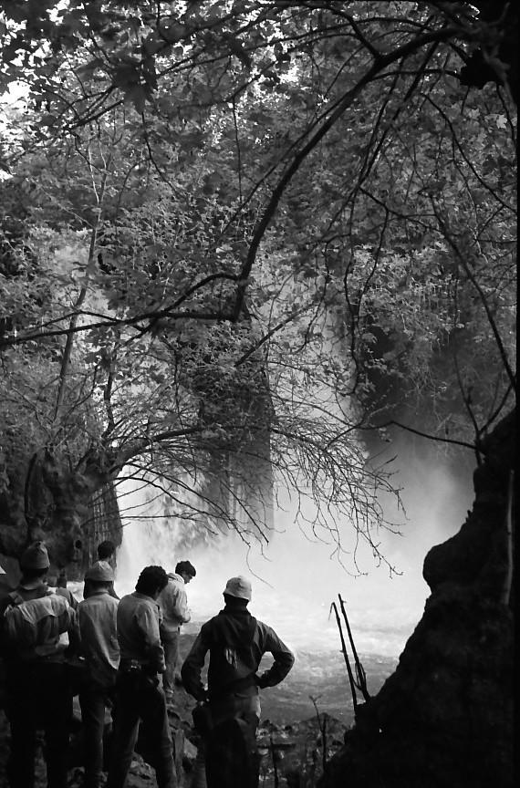תמונה 26- 721 -ג'ש 1968-קב' שקמה-טיול לגליל-בבניאס