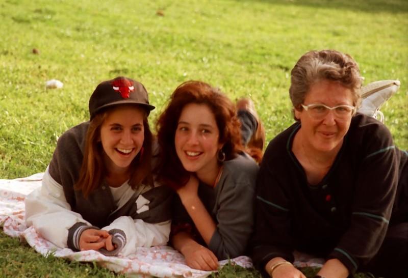 תמונה 15- 118 -ג'ש-קבוצת סביון 1992-שבולת סיון ענבל רפפורט אירית רדו