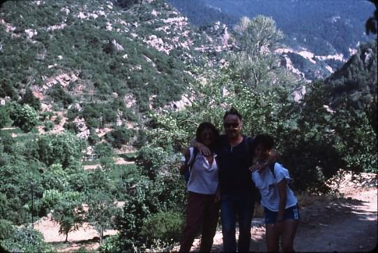 שקופית 33- 36 -קב' סהר-טיול ליון -איתן גלעדי עם חניכות1985