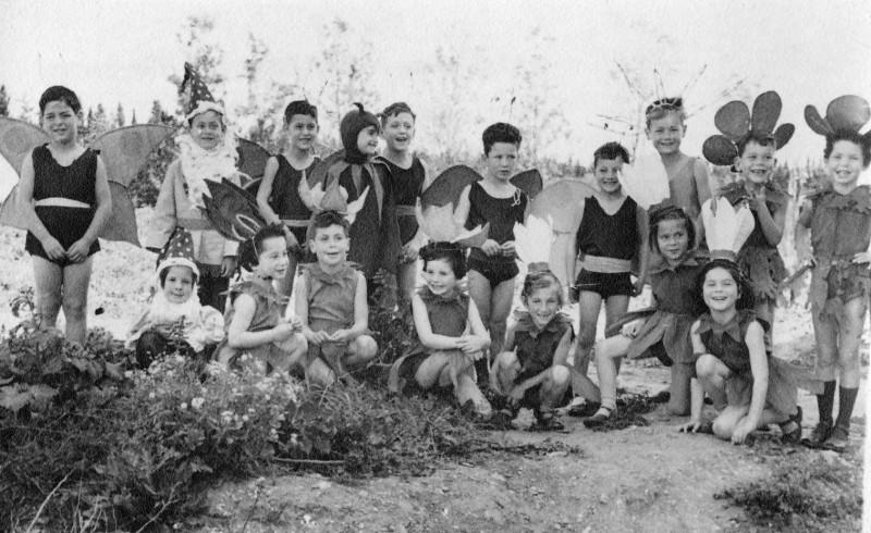 תמונה 17- 261 - הצגה קבוצת רקפת - ציפור שקדי חנוך בראון
