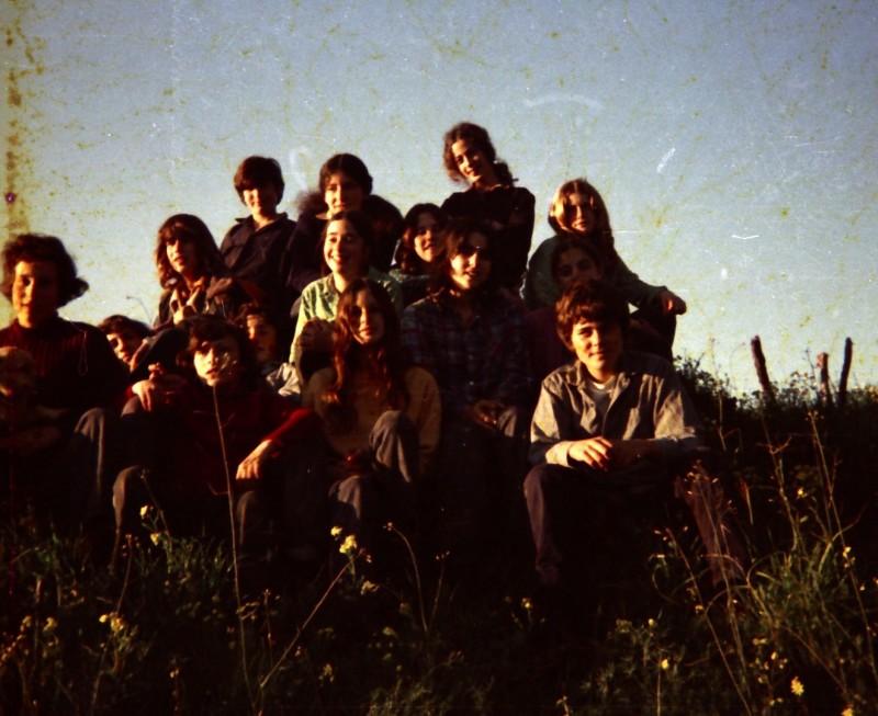 תמונה 25- 260 -ג'ש 1976-9-נערי קבוצת שדה במוסד