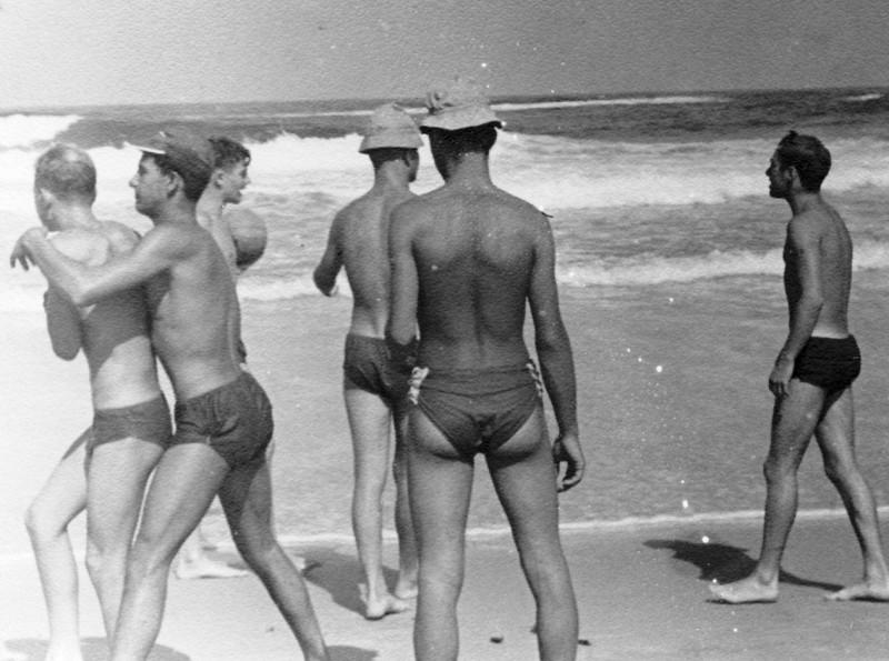 תמונה 24- 130 - קבוצת תומר בקייטנה 1957