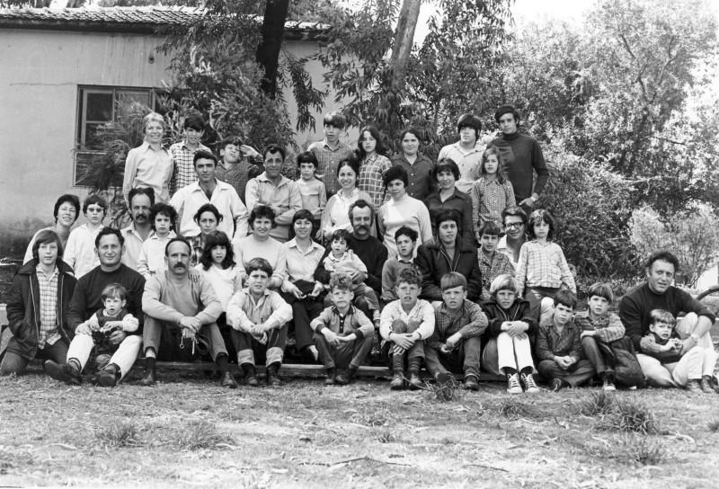 תמונה 6- 897 -ג'ש 1971-חג הקבוץ-50-יסעור ניצנים לדורותיהם-צלם-דוד שני