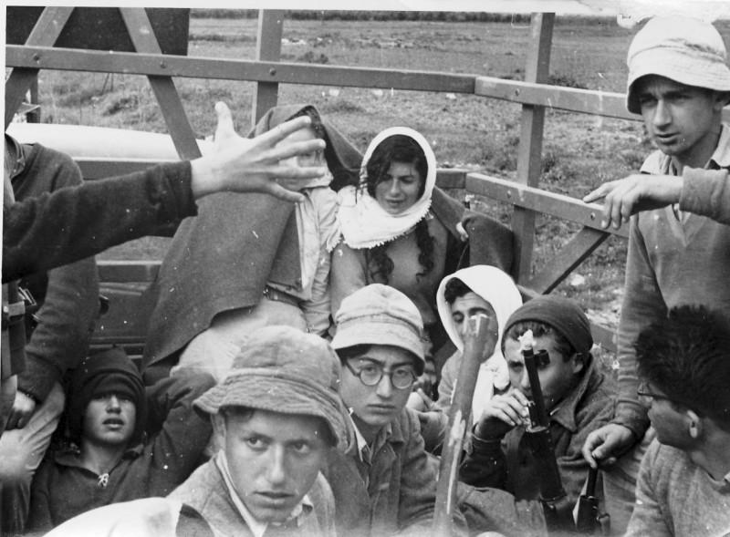 תמונה 16- 272 - טיול שבלים ויסעור שנות ה-50 - רומק רותם דוד גרף סמק ועלה ערמון שלמה ספיר דז'ובק ר