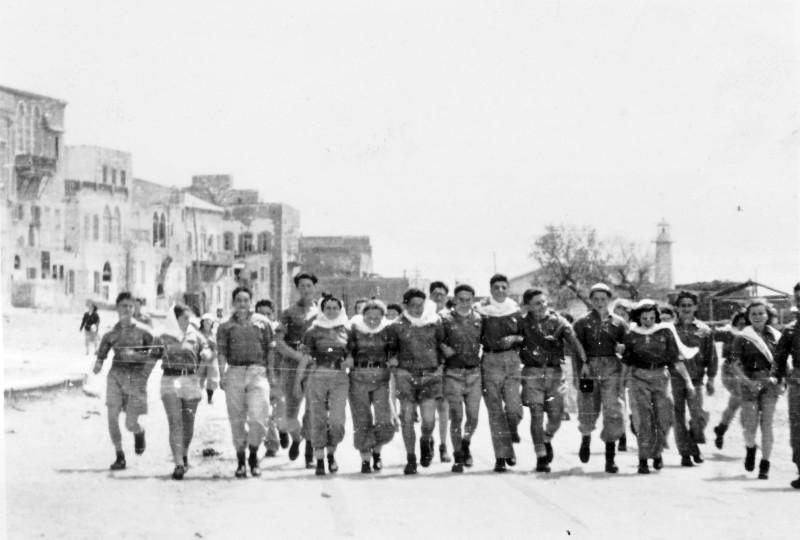 תמונה 17 -946 -ג'ש 1948-52-קב' יסעור בטיול