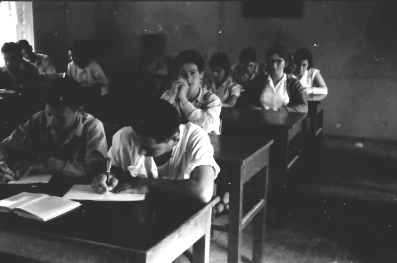 תמונה 1- 646 - ג'ש 1957-קב' ארז בכיתה