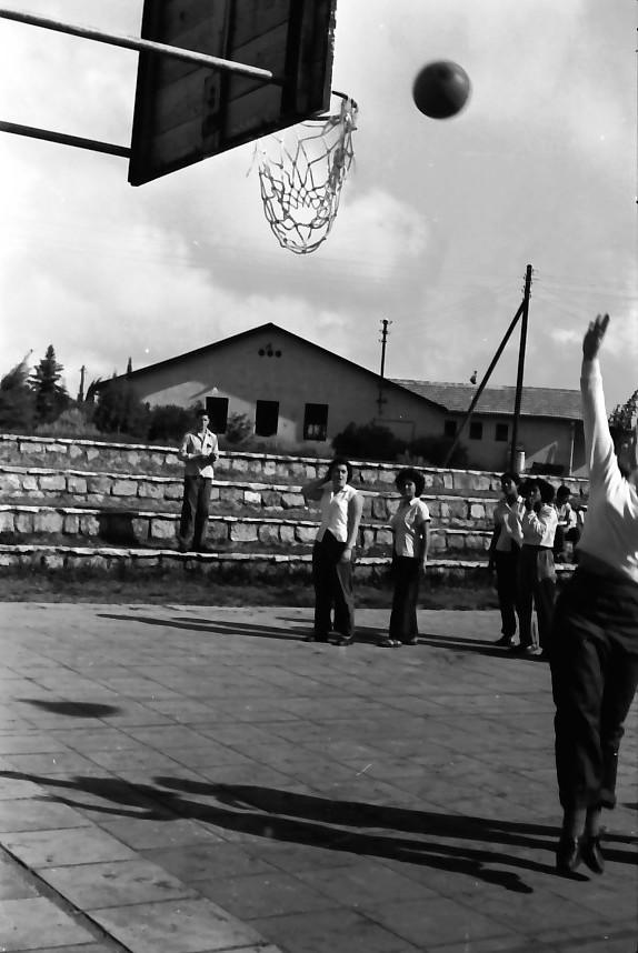 תמונה 15- 646 - ג'ש 1957-קב' ארז במגרש כדורסל