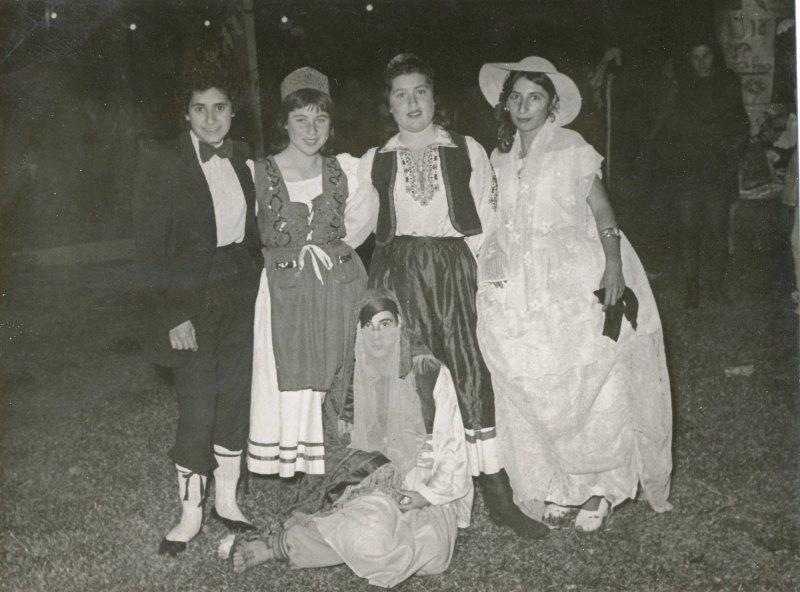 תמונה 21- 908 -ג'ש 1957-קב' ארז-בפורים-שמות בסכום