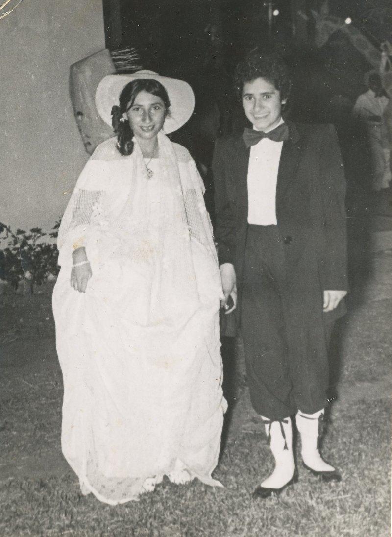 תמונה 24- 908 -ג'ש 1957-קב' ארז-פורים-יפה ואסתר