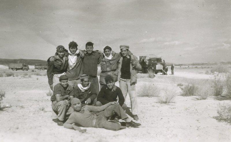 תמונה 46- 908 -ג'ש 1957-קב' ארז-בני ארז בגדנע בבאר-אורה