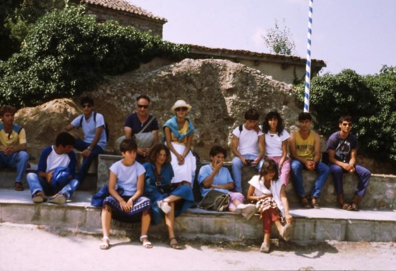 1985 קב' סהר בטיול ליוון-המחנך איתן גלעדי