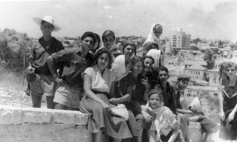 תמונה 20- 335 - קבוצת שלהבת בטיול שנות ה-50
